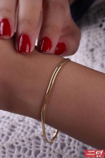 دستبند طلا زنانه قیمت مناسب برند ÇİLÇİL ALTIN رنگ زرد ty62273271