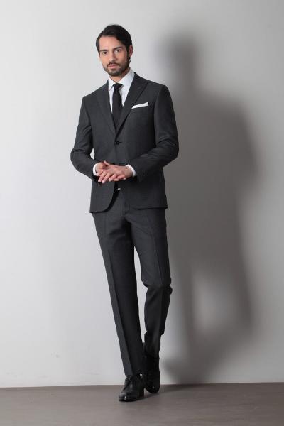 فروش پستی کت شلوار مردانه ترک برند Ramsey رنگ نقره ای کد ty6385341