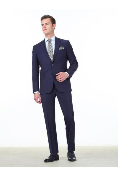 خرید کت شلوار مردانه اصل برند Kip رنگ لاجوردی کد ty65258378