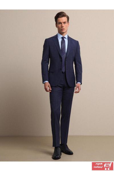 فروش کت شلوار مردانه اصل و جدید برند Kip رنگ لاجوردی کد ty65291362