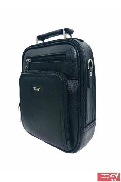خرید ارزان کیف دستی مردانه اسپرت برند TRAUM رنگ مشکی کد ty65304148