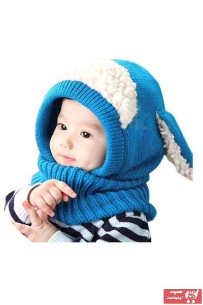 خرید سرپوش نوزاد پسرانه شیک مجلسی برند 2K رنگ آبی کد ty65478145