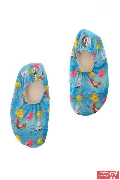 فروش اصل دمپایی بچه گانه دخترانه برند Newborn رنگ آبی کد ty6586182