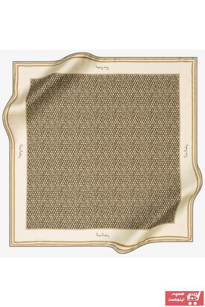 سفارش انلاین روسری زنانه ساده مارک پیرکاردن رنگ قهوه ای کد ty66857183