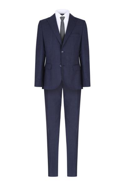 خرید کت شلوار مردانه اصل مجلسی برند W Collection رنگ لاجوردی کد ty66912042