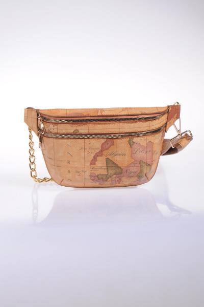 کیف کمری اصل زنانه برند Sergio Giorgianni رنگ قهوه ای کد ty6715696