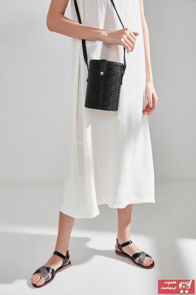 خرید انلاین کیف دستی جدید دخترانه اصل برند هاتیچ اورجینال رنگ مشکی کد ty6854077