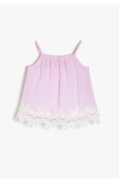 قیمت بلوز نوزاد دختر برند Koton Kids رنگ صورتی ty6861312