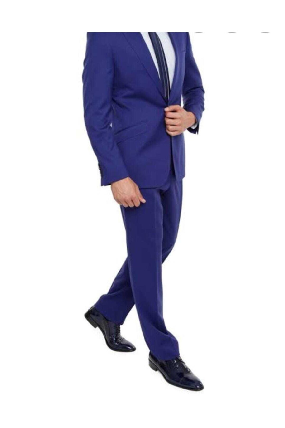 خرید نقدی کت شلوار مردانه ترک برند Zeyrek رنگ آبی کد ty69016116