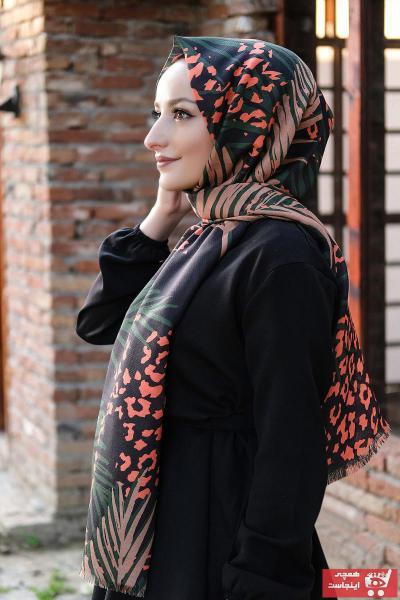 فروش روسری زنانه حراجی برند Moda Prusa رنگ سبز کد ty69024368