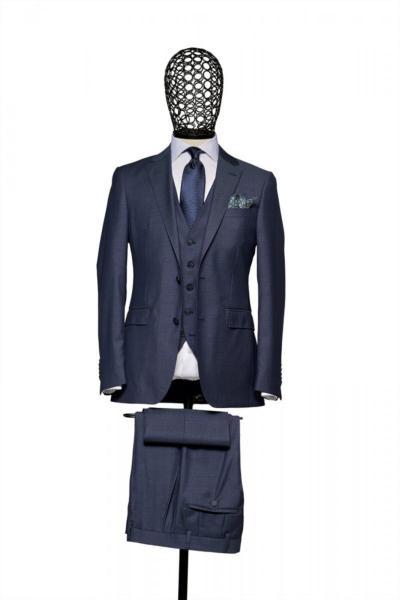 کت شلوار مردانه برند Giovane Gentile رنگ لاجوردی کد ty69558127