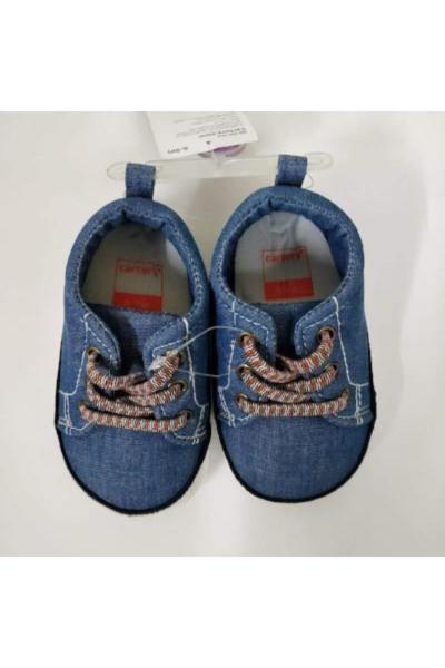 کفش تخت نوزاد پسر کوتاه برند Carters رنگ آبی کد ty70160176
