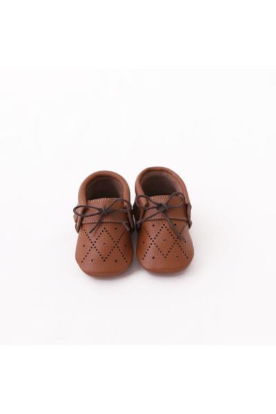 خرید نقدی بوت نوزاد پسرانه ترک  برند Baby Turtle رنگ قهوه ای کد ty70641640