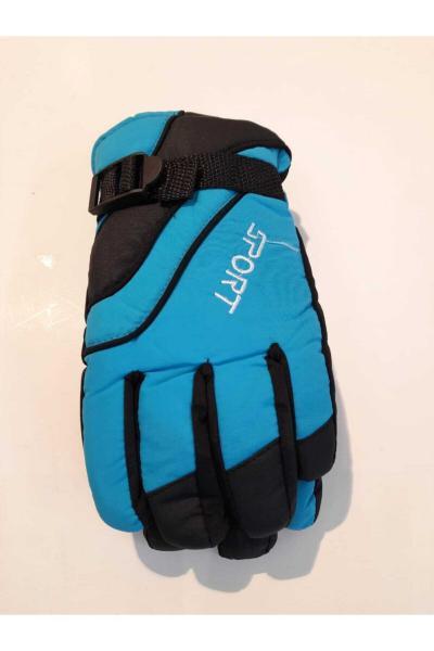 دستکش مدل 2021 برند Kitti رنگ آبی کد ty70661786