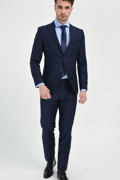 کت شلوار مردانه قیمت مناسب برند Morven رنگ لاجوردی کد ty7073673