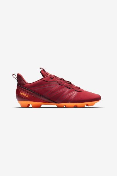 کفش فوتبال مدل 2021 برند Lescon رنگ قرمز ty70764722