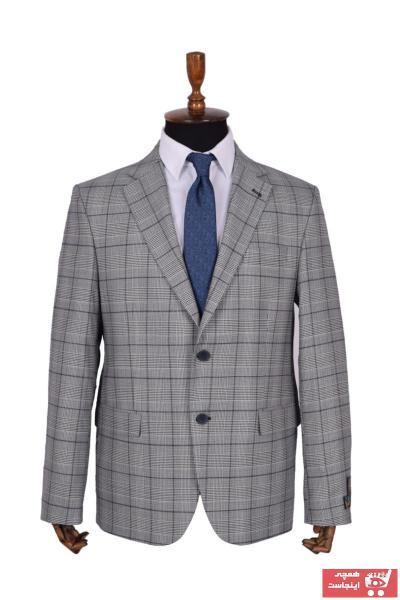 خرید اسان کت شلوار مردانه اسپرت جدید برند BAESS رنگ نقره ای کد ty71189886