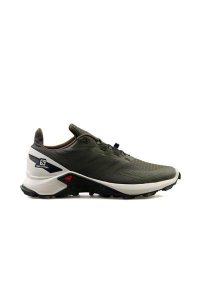 کفش کوهنوردی پاییزی مردانه برند Salomon رنگ خاکی کد ty71575774