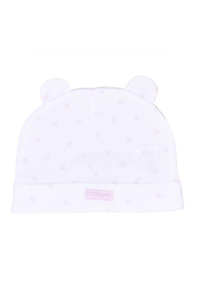خرید اسان کلاه نوزاد دخترانه فانتزی برند kitikate رنگ صورتی ty71648557