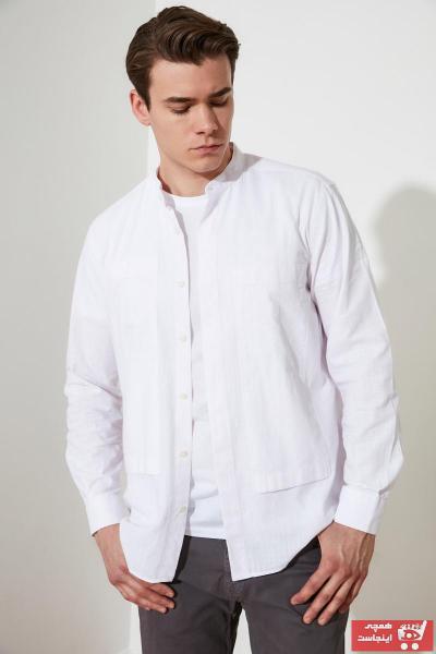 پیراهن مردانه مارک ترندیول مرد کد ty72464702