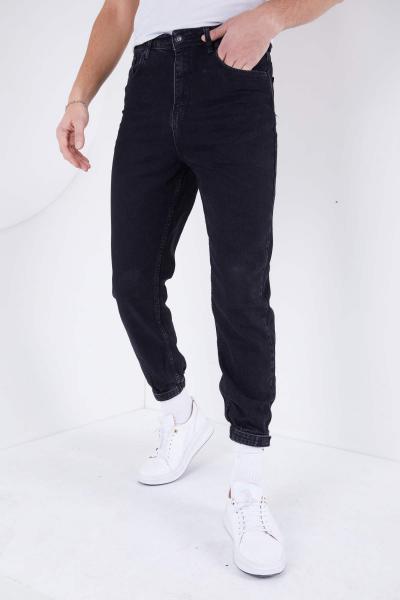 شلوار جین مردانه نخ پنبه برند DİFRANSEL رنگ مشکی کد ty72611185