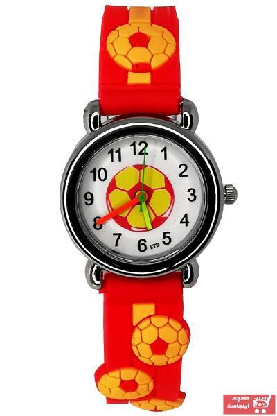 فروش اینترنتی ساعت بچه گانه با قیمت برند sezerekspres رنگ قرمز ty72720521