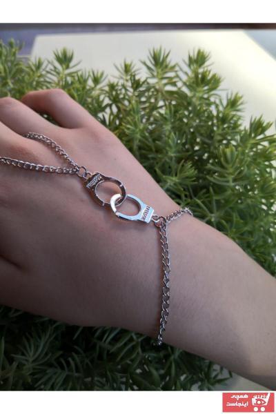 خرید اسان دستبند انگشتی زنانه زیبا برند Deneme Zamanı رنگ نقره کد ty73274756