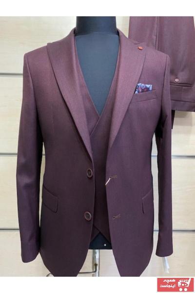 کت شلوار خاص برند GILAPA ÖZSARAN رنگ زرشکی ty73438597