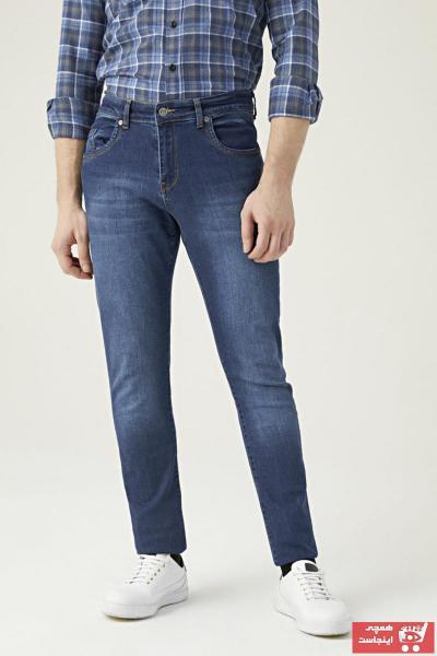 شلوار جین مردانه خفن برند DS Damat رنگ آبی کد ty73936098