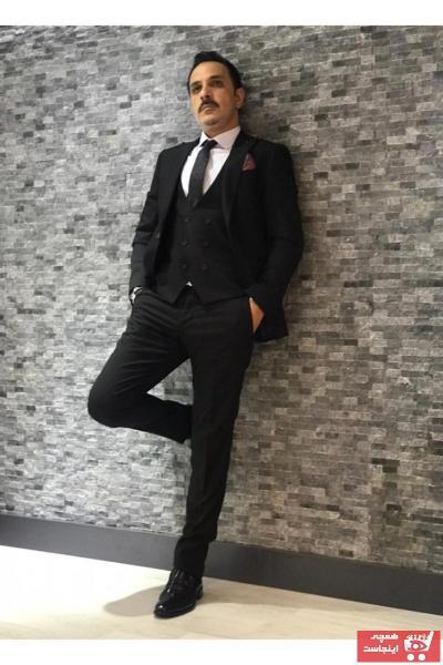 کت شلوار مردانه برند BY EGANİS رنگ مشکی کد ty74046670