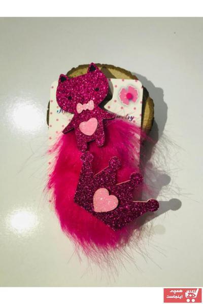 زیورآلات مو بچه گانه دخترانه خاص برند Fashion Jewellery رنگ صورتی ty74237911