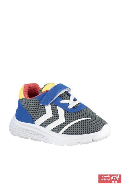 خرید  کفش اسپرت بچه گانه پسرانه برند هومل رنگ نقره ای کد ty74356982