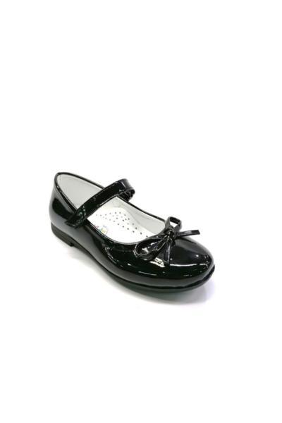 کفش تخت بچه گانه دخترانه مارک دار برند Papuccum Ortopedi رنگ مشکی کد ty74622763