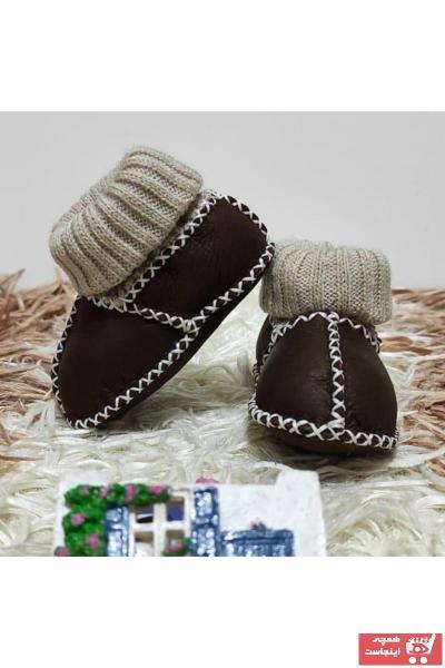 خرید مدل کفش تخت نوزاد پسرانه برند GÜNLÜK FIRSAT رنگ قهوه ای کد ty74626829