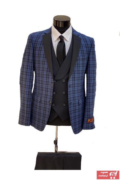 کت شلوار  مردانه برند WESEN رنگ لاجوردی کد ty75999493