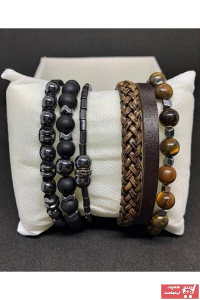سفارش انلاین دستبند مردانه ساده برند VENTUS CALİDUS رنگ مشکی کد ty76298674