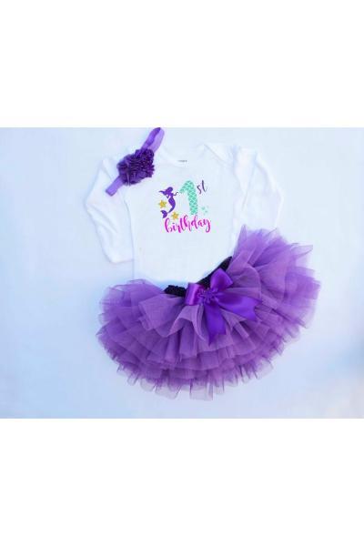 دامن نوزاد دخترانه با قیمت برند bba new trend رنگ بنفش کد ty77190748