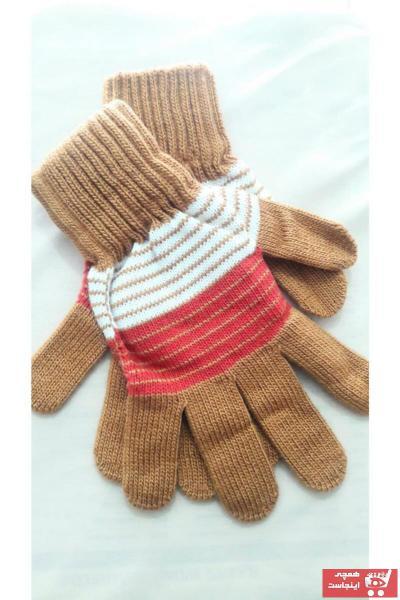 سفارش انلاین دستکش بچه گانه پسرانه ساده برند Başarı bijüteri رنگ قهوه ای کد ty78415178