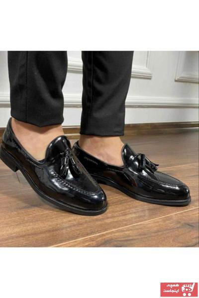 خرید ارزان کفش کلاسیک فانتزی مردانه برند SMOKİN SHOES رنگ مشکی کد ty78489006