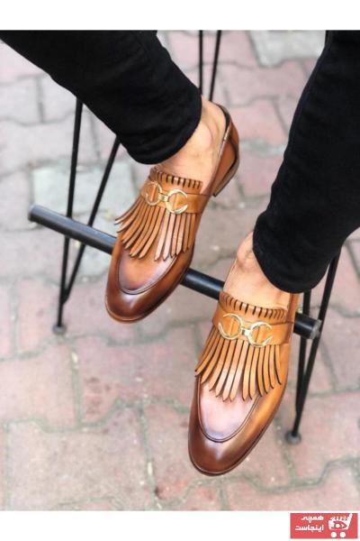 خرید اینترنتی کفش کلاسیک بلند برند SMOKİN SHOES رنگ قهوه ای کد ty78489372