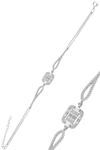 دستبند اورجینال برند Söğütlü Silver رنگ نقره کد ty79396021
