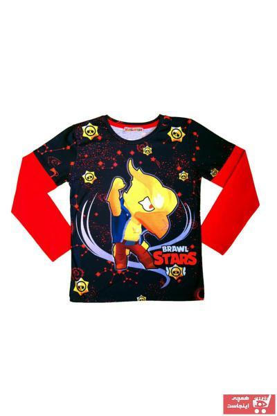 فروش سویشرت بچه گانه شیک و جدید برند Kidslanya رنگ قرمز ty79710953