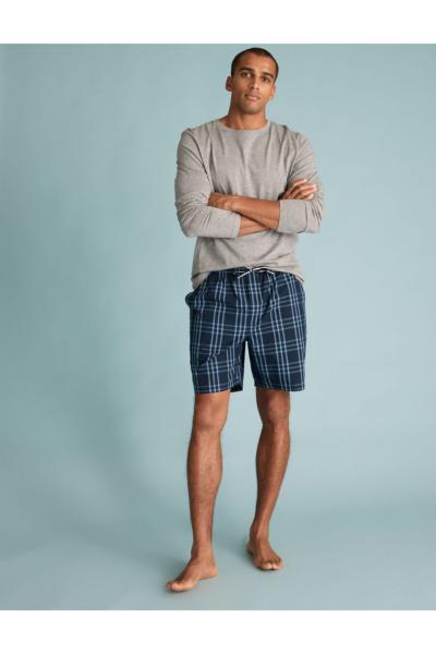 خرید انلاین پیژامه جدید مردانه شیک برند Marks & Spencer رنگ لاجوردی کد ty80555476
