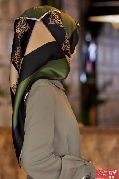 فروش نقدی روسری زنانه خاص برند Vissona رنگ مشکی کد ty80575733