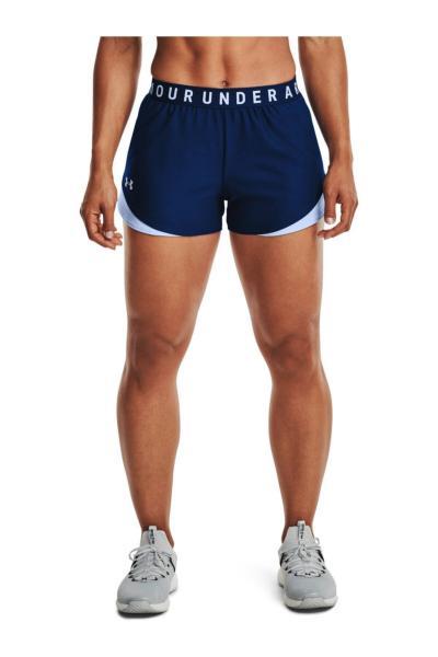 خرید شلوارک ورزشی نخی برند Under Armour رنگ آبی کد ty83710550