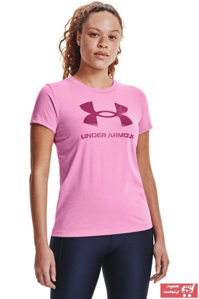 خرید انلاین تیشرت ورزشی مردانه خاص برند Under Armour رنگ صورتی ty83713112
