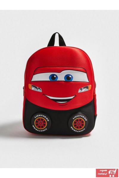 کوله پشتی خاص بچه گانه پسرانه برند ال سی وایکیکی LC Waikiki رنگ قرمز ty84054358