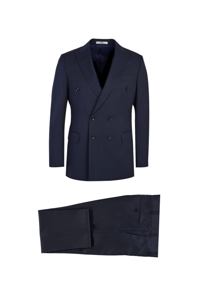 کت شلوار مردانه مدل برند Kiğılı رنگ لاجوردی کد ty84900828