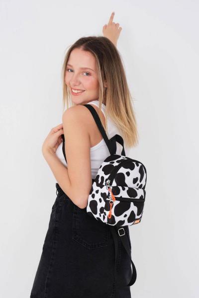 سفارش انلاین کوله پشتی زنانه ساده برند Addax رنگ مشکی کد ty85572533