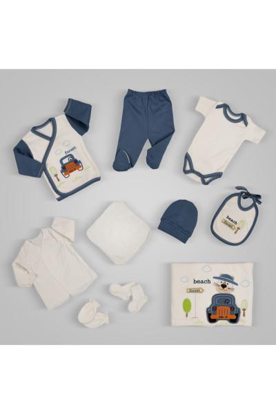 ست لباس ساده برند Gubi Kids رنگ لاجوردی کد ty85831916